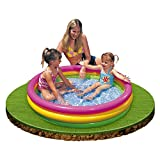 Intex 57412NP - Sunset Glow Baby Pool, 3-Ring, ø 114 x 25 cm -