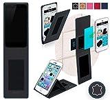 Obi Worldphone MV1 Hülle in schwarz Leder - innovative 4