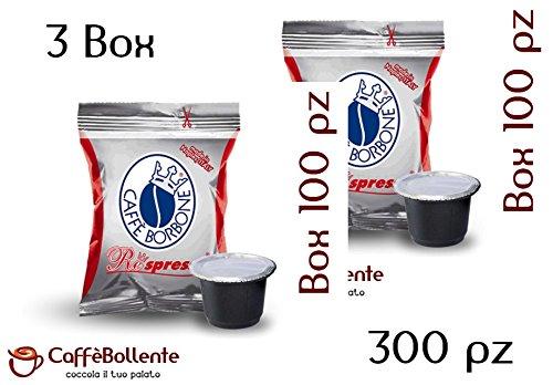 Caffè borbone - miscela rossa - capsule nespresso - 300 pz (3x100)