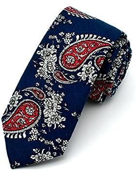 Corbata de Flores Tejido Microfibra para Hombre – varios colores