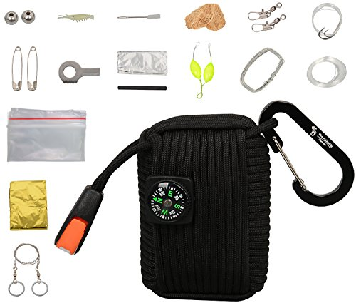 The Friendly Swede Kit Paracord Pod (Nero)