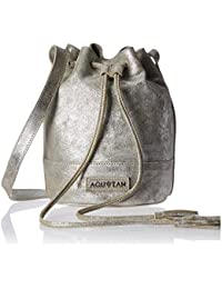 Aquatan Women's String Along Medium Sling Bag Mettalic Silver AT-M-29