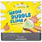 PodSquad The Neon Bubble Slime Box - DIY Slime Kit - 4 To 9 Years Old