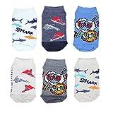 TupTam Unisex Kinder Socken Bunt Gemustert 6er Pack, Farbe: Kurzsocken Junge, Größe: 31-34