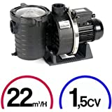 Pompe filtration piscine - Ultra Flow Plus 1,5CV Mono 22m³/H - Pentair