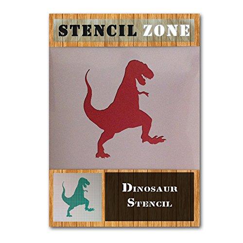 Tyrannosaurus Rex Dinosaurier-Form Mylar Airbrush Painting Wall Art Schablone Zwei (A4 Größe Stencil - Small) (Größe Rex Tyrannosaurus)