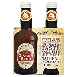 Fentimans Traditional Ginger Beer, 4 X 275ml