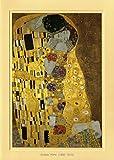 Artoz Kunstkarte Klimt: Die Liebenden, Format B6, ein Set besteht aus Einlegeblatt, Kuvert und Karte - verpackt zu 3 Sets - Preis für 3 Sets