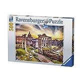 Ravensburger 14759, Puzzle Rom bei Sonnenuntergang, 500Teile (Französiche Version)