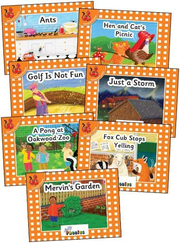 Jolly Phonics Orange Level Readers Complete Set: in Precursive Letters (British English edition)