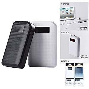 Remax Proda 10000 MAH Power Bank - Black, 2 USB Port, Intelligent LCD display, Power