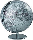Mascagni -Globo terráqueo diámetro 30 cm. color plata, no pris en carga