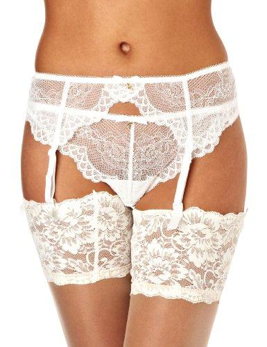 Gossard Damen Tanga Superboost Lace, Gr. X-Large (Herstellergröße: XL), Weiß