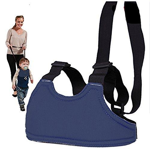 Natural Home Kinder Lauflerngurt Lauflernhilfe Schutzgurt verstellbar Gurt - Dunkel Blau,Atmungsaktiv