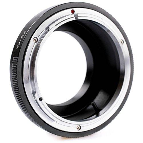 Quenox Objektiv-Adapter für Canon-FD-Objektiv an Fuji-X-Mount-Kamera - z.B. für Fuji Finepix X-T20, X-T10, X-T2, X-T1, X-E2S, X-E2, X-E1, X-A10, X-A3, X-A2, X-A1, X-M1, X-Pro2, X-Pro1