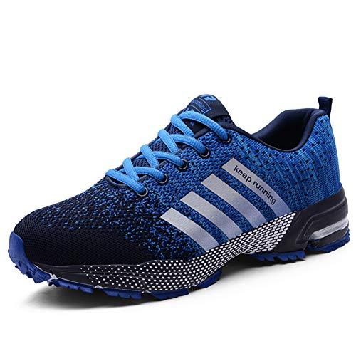 new style 8665e 41a4b UBFEN Scarpe da Corsa Uomo Scarpe per Correre Running Sportive Ginnastica  Sneakers Fitness Training Trekking Scarpe