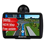 SAT NAV GPS Navigation System AONEREX-7-inch HD Touch Screen,Voice Car Navigation System, Built-In