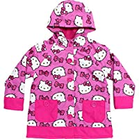 Western Chief Girls Hello Kitty Rain Coat (Pink, 4T)