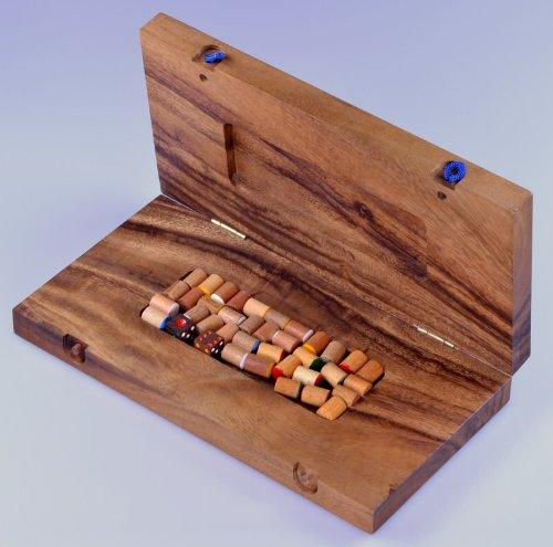 Blockade-Wrfelspiel-Strategiespiel-Gesellschaftsspiel-Brettspiel-aus-Holz-mit-faltbarem-Spielbrett