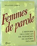Telecharger Livres Femmes de Parole (PDF,EPUB,MOBI) gratuits en Francaise
