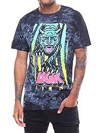DGK Men s Panther T Shirt Black Crystal Wash 8cae75567fe