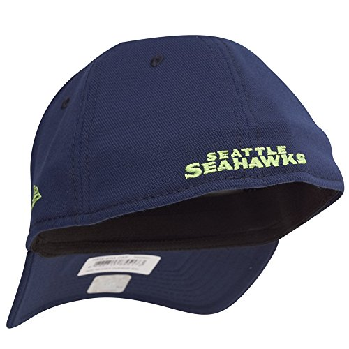 New Era Oceanside 39Thirty Cap SEATTLE SEAHAWKS Blau Blau