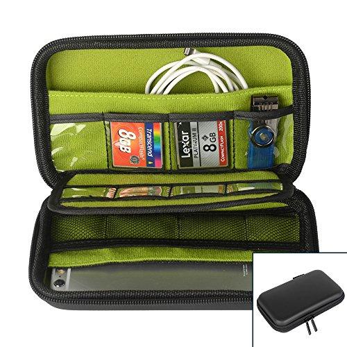 Organizzatore universale elettronica accessori, ZITFRI Custodia da Viaggio per Dispositivi Elettronici e Accessori Portatile