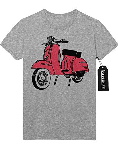 T-Shirt Pink Vespa H123343 Grau