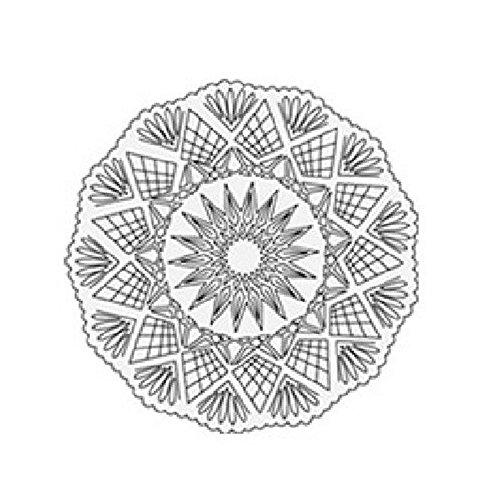 Plateau étoile à pâtisserie pour gâteau et semifreddi – cm 27