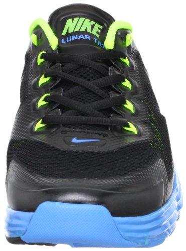 Mens Lunar Tr1 Chaussures de course Black / Volt / Blue Glow