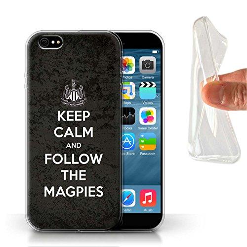 Officiel Newcastle United FC Coque / Etui Gel TPU pour Apple iPhone 6 / Pack 7pcs Design / NUFC Keep Calm Collection Suivez/Magpies