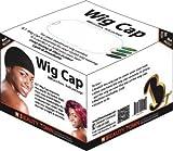 Beauty Town Wig Cap 200 Pieces Bulk Box (Black)