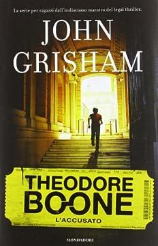 Cover L'accusato. Theodore Boone