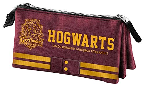Harry Potter – Harry Potter – Estuche portatodo Triple (Karactermanía KM-33629) (Karactermanía 33629)