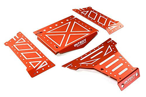 Integy RC Model Hop-ups C27661RED Aluminum Alloy Body Panel Kit for Axial 1/10 Yeti Rock Racer Buggy - Rc-kit Yeti