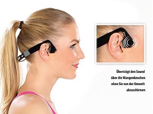 auvisio Wasserdichtes Headset BC-40.sh mit Bluetooth 4.0, Bone Conduction - 3