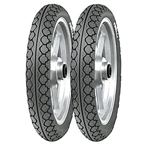Paire Pneu pneus Pirelli Mt 15 Mandrake 80/80 - 16 90/80 - 16 Liberty 150