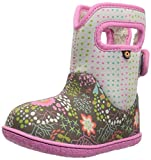 Bogs Baby Reef Girls Waterproof Wellies 25 Gray Multi