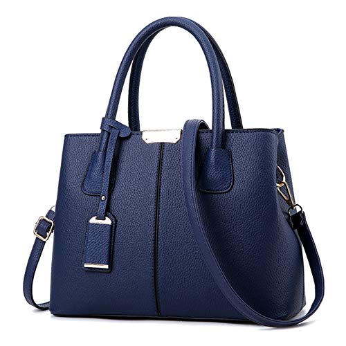 RUITIAN Womens Soft Leather Handbags Large Capacity Retro Vintage  Top-Handle Casual Tote Shoulder Bags 322104c4067d3