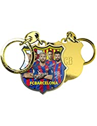 FC Barcelone joueurs Photo Keychain