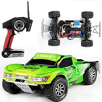efaso 2,4 GHz RC Short Course Fahrzeuge Autos 1:18 WLToys 50 km//h Indoor Outdoor