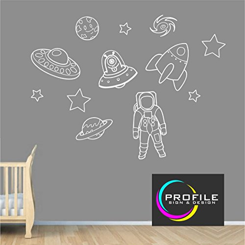 espace-sur-le-theme-art-mural-stickers-y-compris-astronaute-planetes-alien-et-etoiles-taille-environ