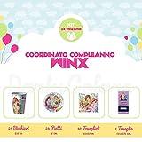 Partycolare Kit Compleanno Winx per 24 persone - Piatti, Bicchieri, Tovaglioli e Tovaglia
