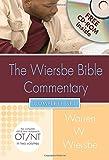 Wiersbe Bible Commentary 2 Vol Set W/CD ROM (Wiersbe Bible Commentaries)