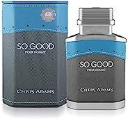 Chris Adams Perfumes So Good Man Eau De Perfume For Men, 80 ml