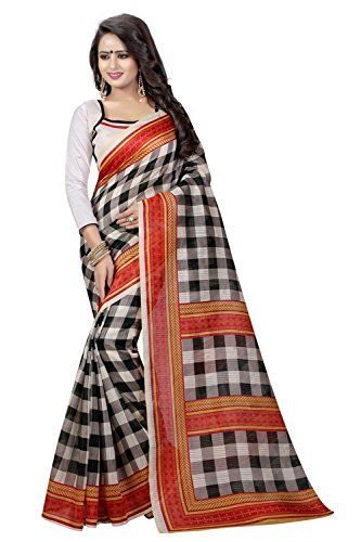 Macube Women's Latest Multi Color Designer German Silk Sarees New Collection 2017...