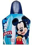 ENFANTS garçons licence Disney Mickey Mouse à capuche Serviette de bain/plage