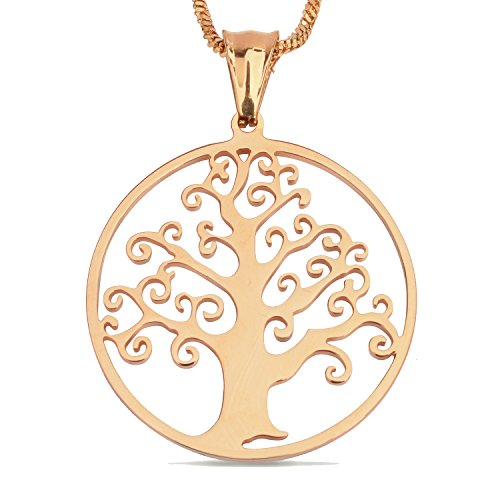 s Mode Anhänger Halskette Für Frauen und Männer Einfachen Stil (Baum Mann Kostüme)