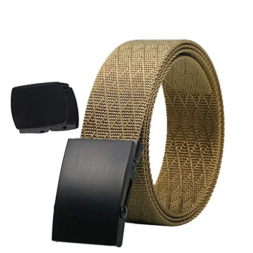 Tactical Belt - Durable and Comfortable and Fully Adjustable - Military Belt Military Nylon Casual Riggers for Heavy Works YKK Belt Bucklet Plastic Belt