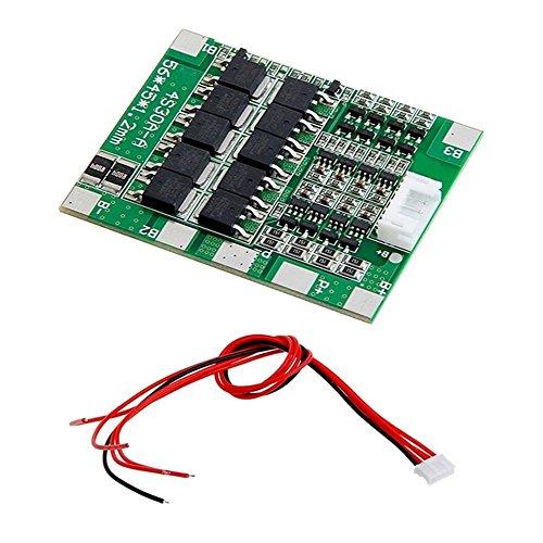 FengYun 4 string 14,8 V schutzplatine 30A entladung mit gleichgewicht 18650 batterie schutzplatine (18g Strings)